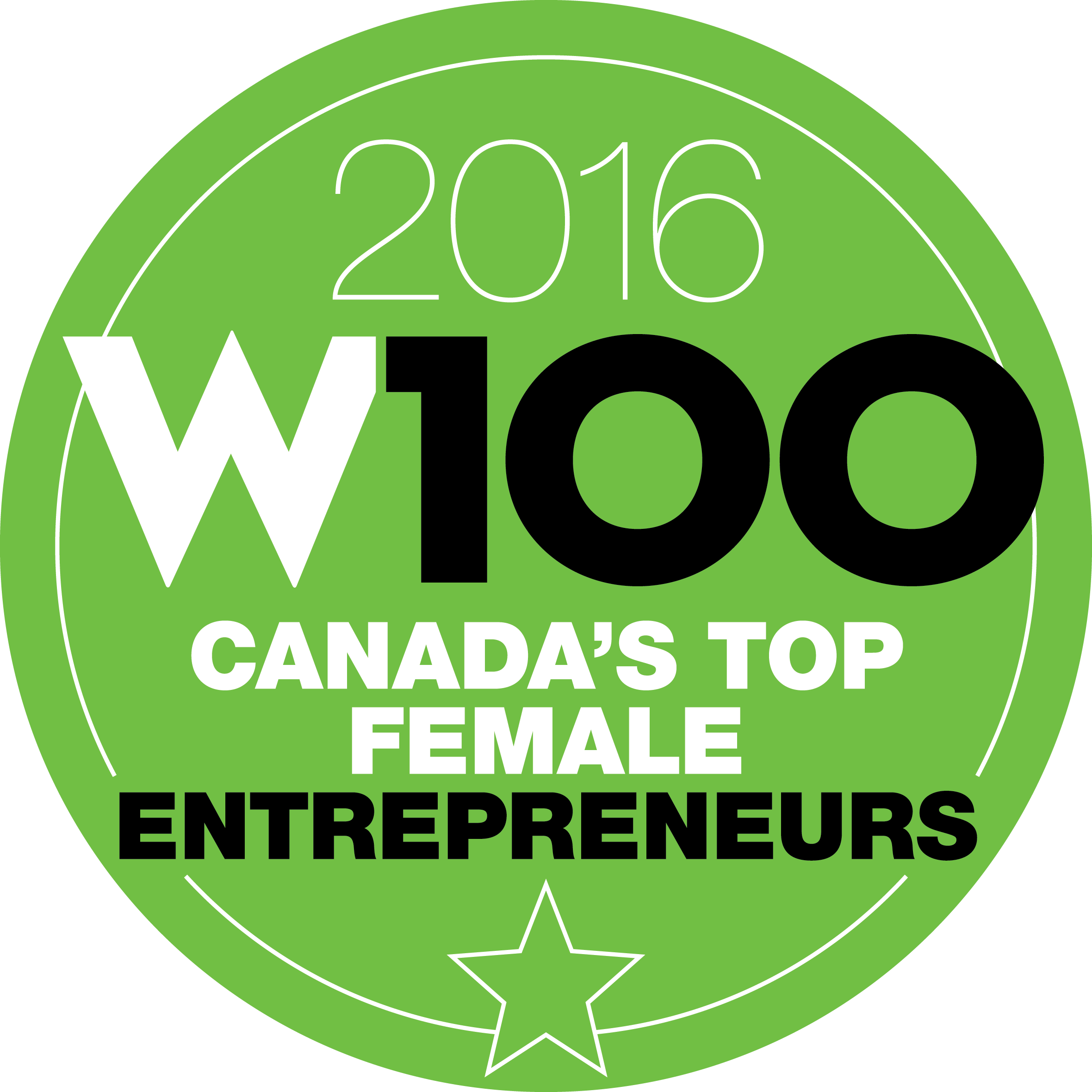 W100 2016 - Canada's Top Female Entrepreneurs