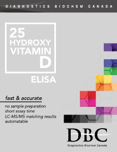 DBC 25(OH)D ELISA kit