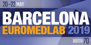 DBC at EUROMEDLAB Barcelona 2019