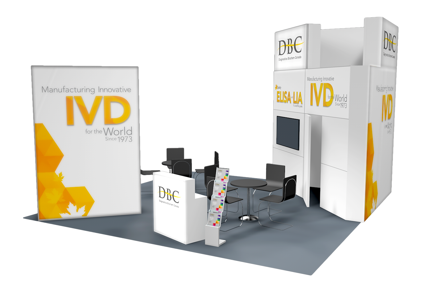 DBC booth 3557 - AACC 2019