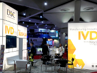 DBC booth at AACC 2017