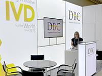 DBC Medlab booth 2017